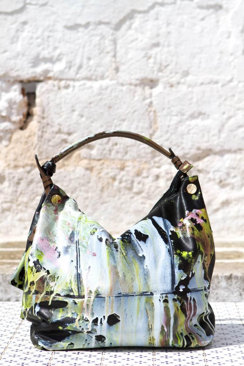 Grandmother Bag Collection #1, 2013 graffiti bag. unique size, unique piece