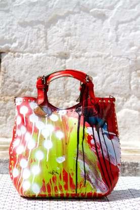 Grandmother Bag Collection #2, 2013 graffiti bag. unique size, unique piece