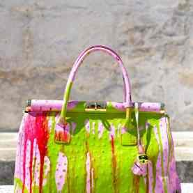 Grandmother Bag Collection #6, 2013 graffiti bag. unique size, unique piece