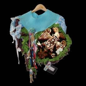 Ponchos Collection #5, 2006, unique piece, unique size
