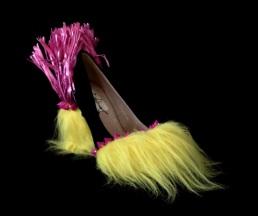 González, Criminal Aesthetic Fashion #11_2013 fur, studs and rafia number 36, ph Elena Girelli