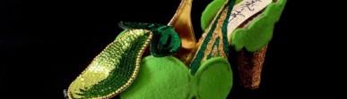 González, Criminal Aesthetic Fashion # 1_2013 wool, felt, glitter and paillettes decoration number 38, ph Elena Girelli detail