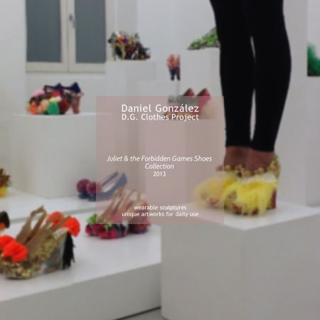 D.G. Clothes Project, Juliet & the Forbidden Games Shoes, 2013