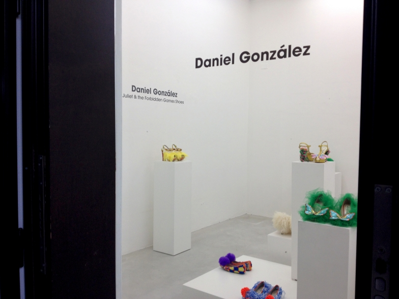 Juliet & the Forbidden Games Shoes, installation view, Studio La Città, Verona, 2013