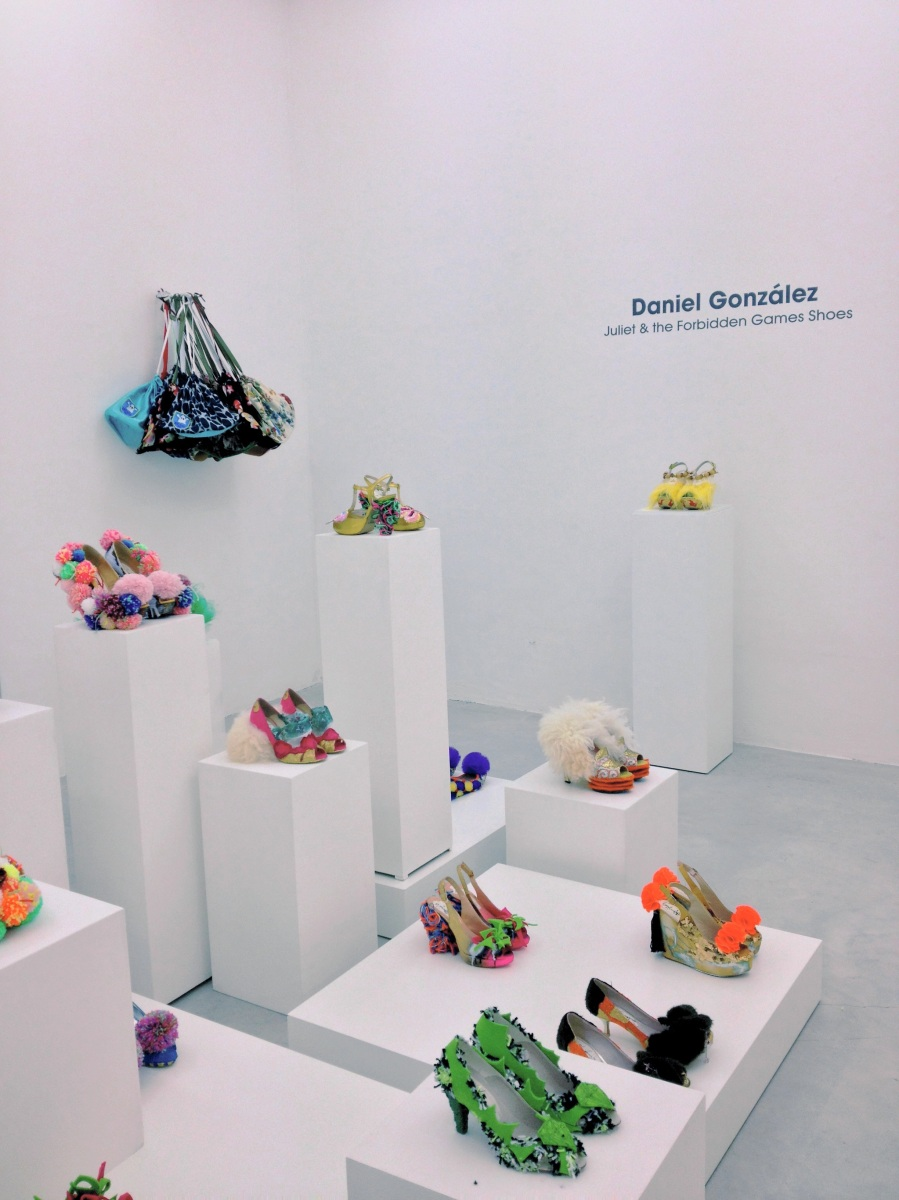 Juliet & the Forbidden Games Shoes, installation view, Studio La Città, Verona, 2013