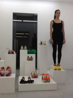 Juliet & the Forbidden Games Shoes, performance, Studio La Città, Verona, 2013