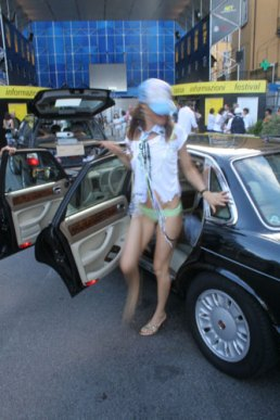 Blow my car, Babe, performance frame, Kunsthalle Locarno, Switzerland, 2006
