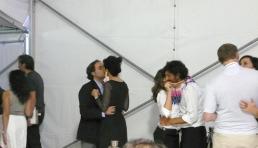 In you I taste God, performance, Pulse Art Show, Miami, 2008