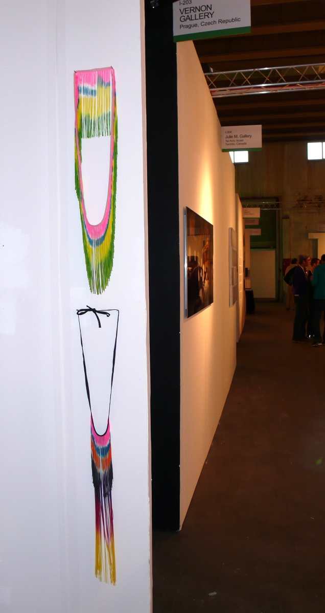 In you I taste God, booth view, Pulse Art Show, Miami, 2008