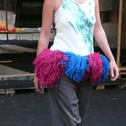 My Clothes, performance runway, Manifesta 7, Rovereto / Bolzano, 2008