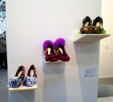 D.G. Clothes Project, Dianal Lowenstein Gallery booth, ArteFiera Bologna 2014