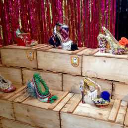 Bastardisation Sculpture Shoes Collection, installation view, Milan Design Week, 2014