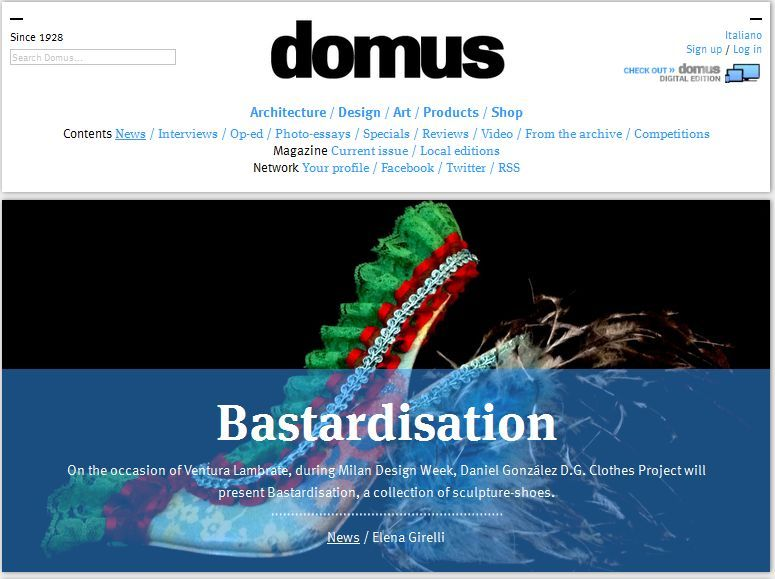DOMUSweb on Bastardisation