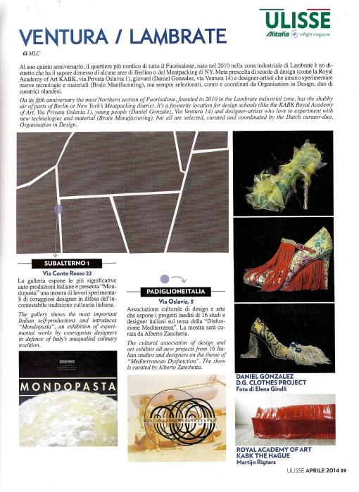 Ulisse Alitalia Inflight magazine, n.353, apr 2014, p.39