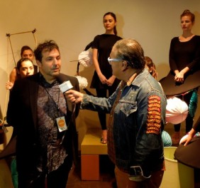 Daniel González, BTSH Fashion Show, inteview with Agosto Cuellar, StyleLush TV (6)
