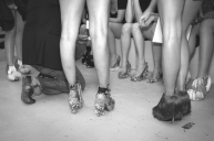 Daniel González D.G. Clothes Project, Aaaaaaahhh Anthology of a Liar, backstage, Marsèll, Feb 2015, Ph Talitha Dittfeld
