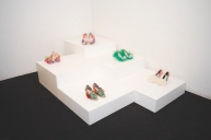 Daniel González D.G. Clothes Project, Aaaaaaahhh Anthology of a Liar, display corner, Marsèll, Feb 2015, Ph Talitha Dittfeld