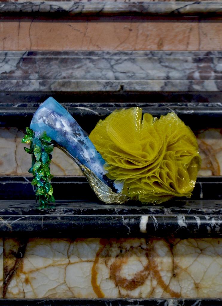 Cut-Up Sculpture Shoes Collection #1, 2015, size 38 - unique piece
