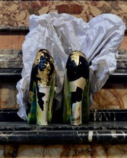 Cut-Up Sculpture Shoes Collection #3, 2015, size 37 - unique piece