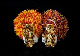 Daniel González D.G. Clothes Project, Cut-Up Sculpture Shoes Collection #7, 2015, size 39 - unique piece