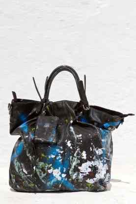 Grandmother Bag Collection #13, 2013 graffiti bag. unique size, unique piece