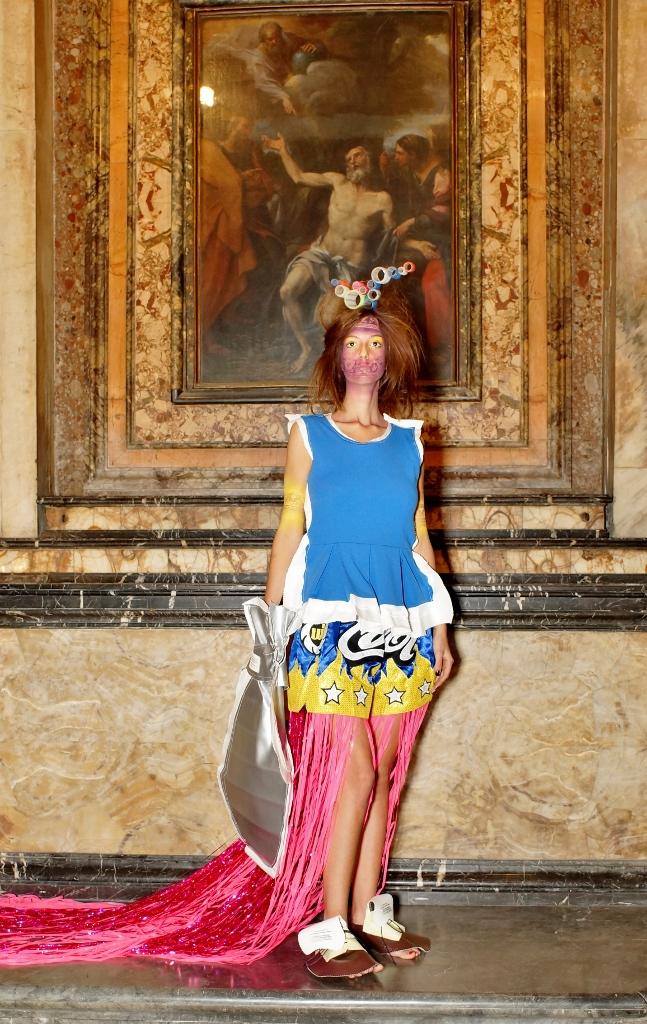 D.G. Clothes Project, Cut-Up Scultpure Clothes Collection, Lookbook, Ph Gabriele Malaguti, courtesy Giubilarte