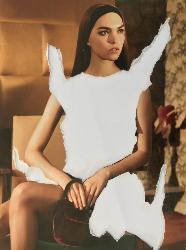 Daniel González D.G. Clothes Project, Cut-Up Projects: Zero Degree of Fashion #1, 2016
