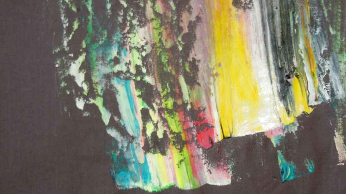 TEST series: colors, 2017, unique piece detail