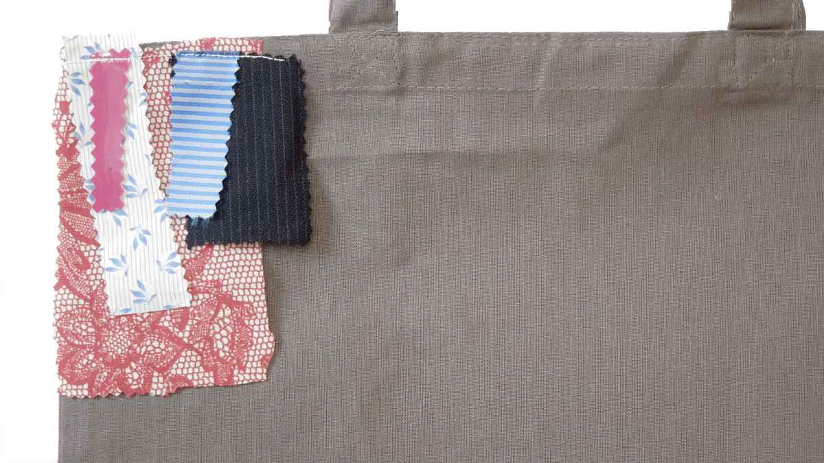 TEST series: textiles and fabrics, 2017, unique piece detail