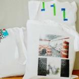 D.G. Clothes Project for VP, 2017, unique one-off shopper bags