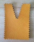 Tote bags: ochre eco-leather