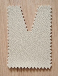 Tote bags: beige eco-leather