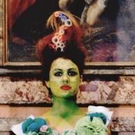 "from ""Portrait Fashion Factory"" performance, 2015, Rome, Ph Malaguti"