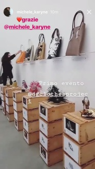 D.G.Clothes Project experience, pop-up shop, Milano-Lambrate 2018